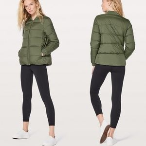 Lululemon Green Weightless Wunder Jacket
